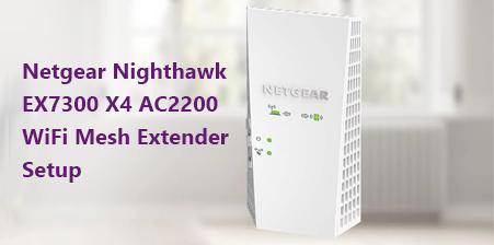 netgear nighthawk setup
