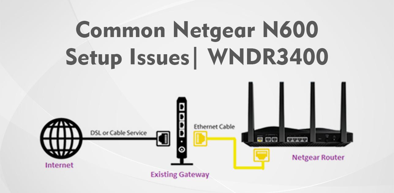 Common Netgear N600 Setup Issues