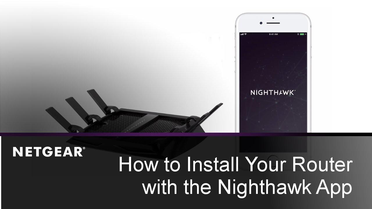 Netgear Nighthawk X10 Setup Using Nighthawk App