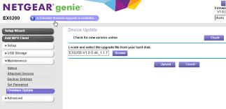 Netgear EX7700 Firmware Update