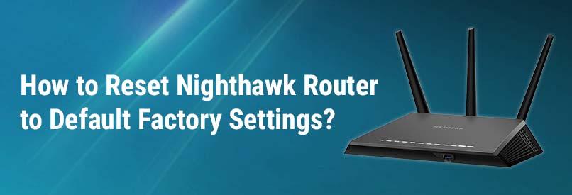 Netgear router setup