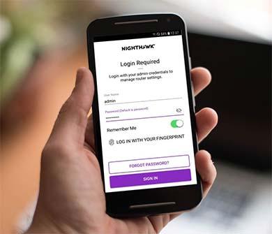 Netgear Router Admin Login Using Nighthawk App