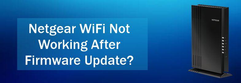 netgear wifi not working